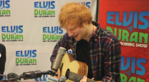"Ed Sheeran Performs Beyonce's ""Drunk In Love"""