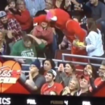 Benny The Bull Steals Celtic's Fan GF – Bulls vs Celtics Kiss Cam FAIL