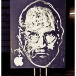 Amazing Steve Jobs Tribute Painted in Under 6 Minutes [Video]