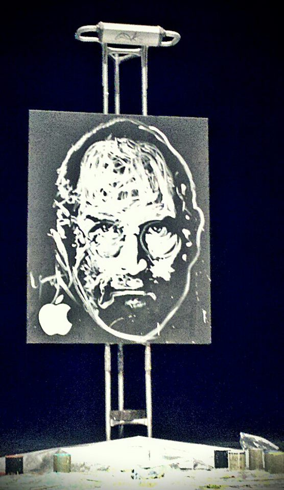 Steve Jobs Tribute Speed Painting