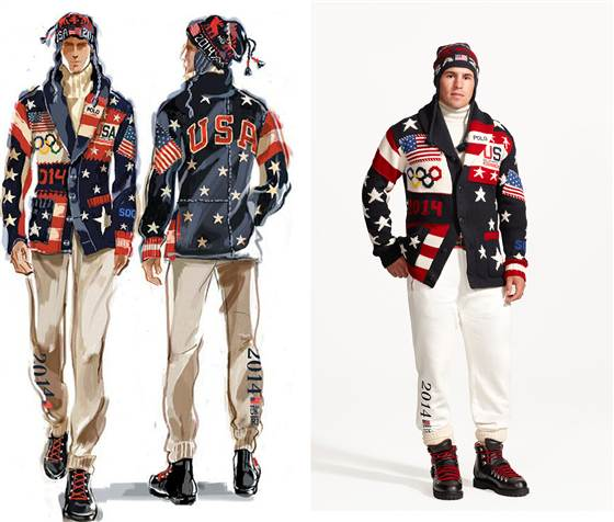 Team USA Opening Ceremony Uniforms 2014