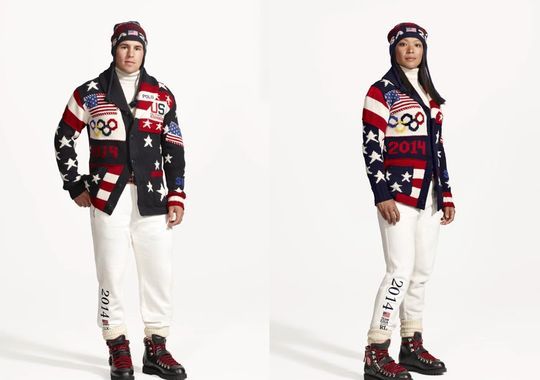 Team USA Uniforms 2014