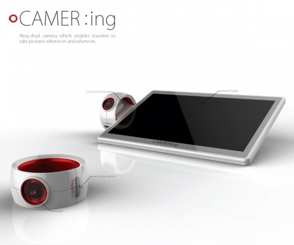The CAMER-ing Digital Ring Camera