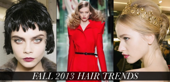 Fall Winter 2013 Women Hair Trends