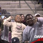 Hilarious Dance Battle Between Detroit Pistons Kid and Usher