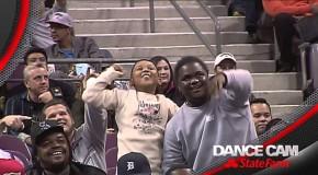 Hilarious Dance Battle Between Detroit Pistons Kid and Usher