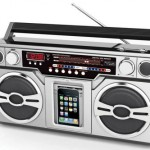 The Retro iPod Boombox