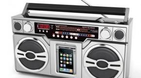 The Retro iPod Boombox