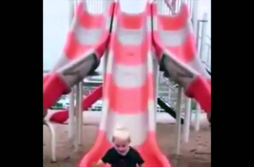 Kid Bangs Head Going Down Slide – One of Those Days [Video]