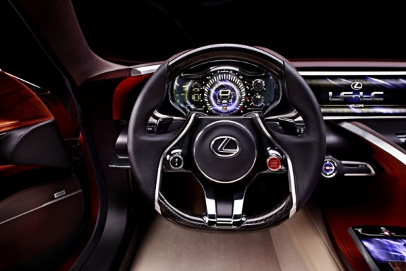 Lexus LF-LC Concept Car (4)