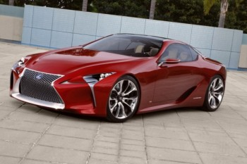 Lexus LF-LC Concept Car (1)