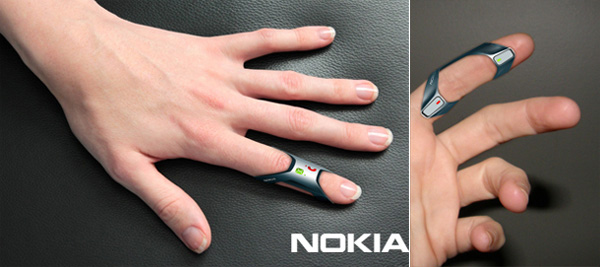 Nokia Hands-Free Finger Cellphone