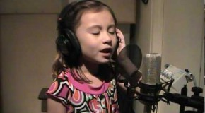 O Holy Night Sung Beautifully by a 7 Year Old