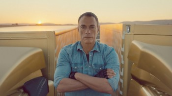 Volvo and Jean-Claude Van Damme Splits Video