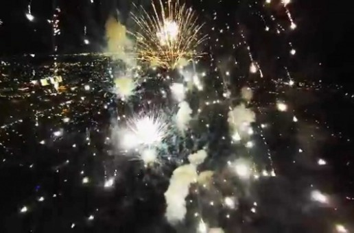 What Happens When You Fly a Drone Into a Fireworks Show